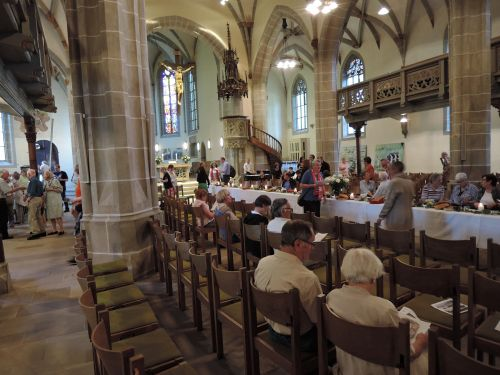 Michaelskirche WN Vernissage 2 5.6.15